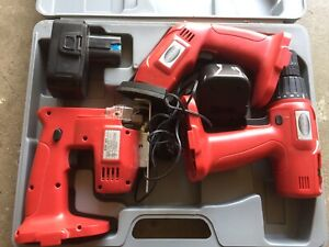 Electric tools - need a new battery, otherwise good condition