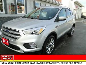 2017 Ford Escape you're approved $115.09 a week tax inc. Titaniu