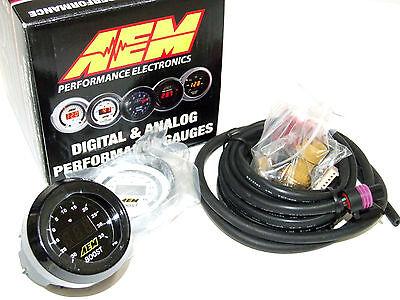 AEM 30-4406 52mm Electronic -30-35psi Turbo Boost Gauge Meter