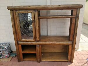 Natural Timber Tv Cabinet Unit