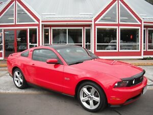 2012 Ford Mustang GT FULL GLASS ROOF V8 HTD LTHR!! BLUETOOTH VOI