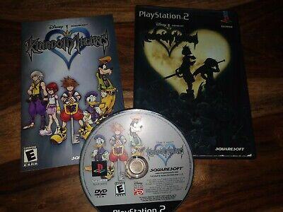 Kingdom Hearts (Sony PlayStation 2, 2002) - ntsc