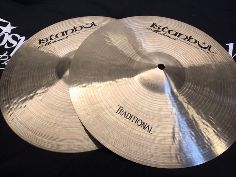 "NEW 13"" Istanbul Mehmet Traditional Matched Hi Hats (Cymbals, Pair, 880/880gs)"