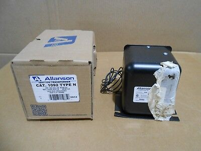 1 Nib Allanson 1092-n 1092n Ignition Transformer 120v 2520ma One End Grounded