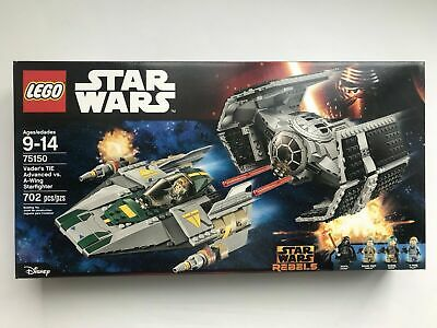 LEGO Star Wars 75150 Vader's TIE Advanced vs. A-Wing Starfighter - MISB NIB