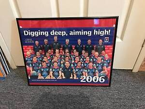 COLLECTION OF NEWCASTLE KNIGHTS FRAMED POSTERS 2006 TO 2010 Broadmeadow Newcastle Area Preview