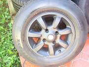 """Set Of 14"""" Black ROH Nissan Pulsa Rims 4 Stud x 114.3 PCD ! Green Valley Liverpool Area Preview"""