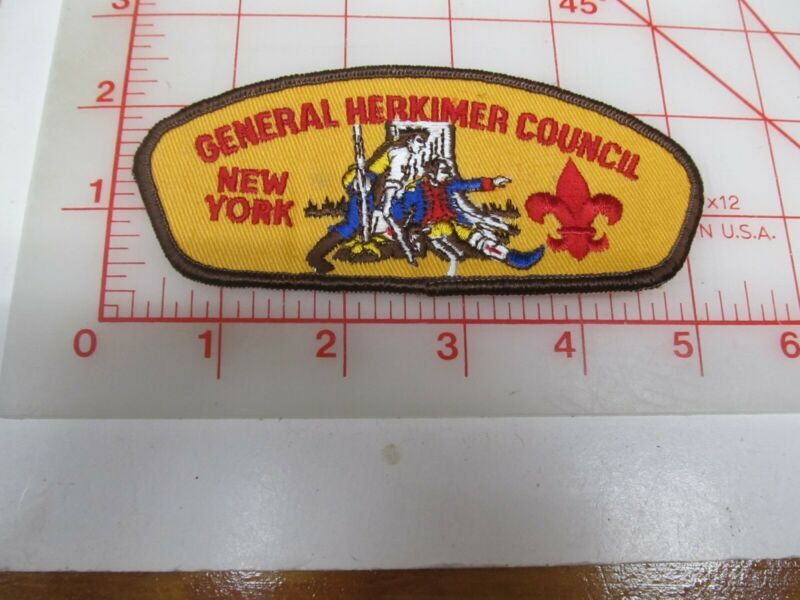 General Herkimer Council CSP collectible patch (o34)