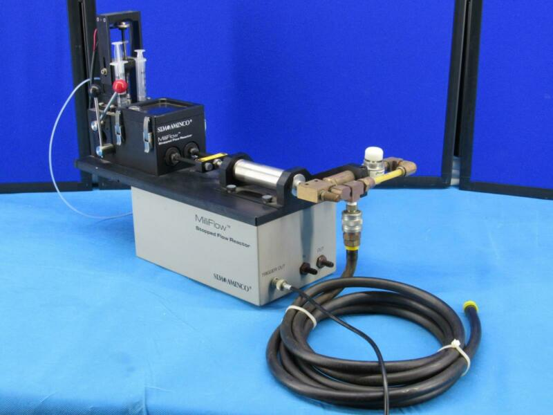 Sim Aminco Milliflow Stopped Flow Reactor Model FP-120