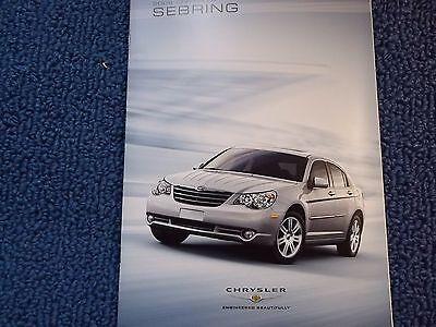 2008 Chrysler Sebring Brochure Lg
