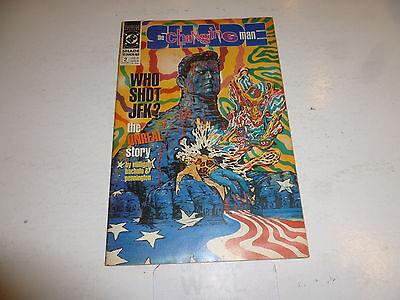 SHADE THE CHANGING MAN Comic - Vol 1 - No 2 - Date 08/1990 - DC Comic