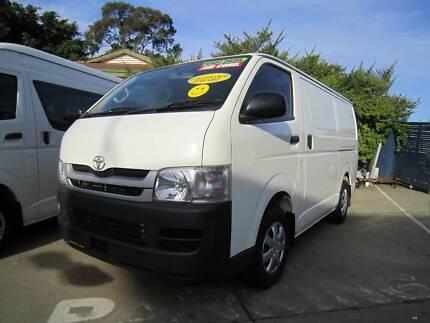 2010 Toyota Hiace Van/Minivan St James Victoria Park Area Preview