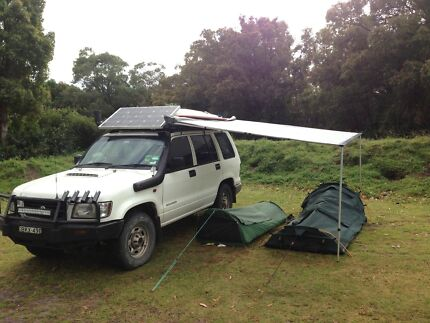 Holden jackaroo diesel 4wd camper decked out West Perth Perth City Preview