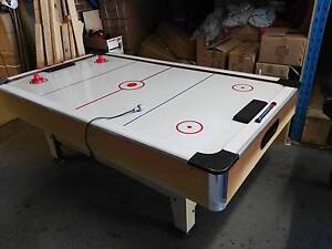 7 Ft Air Hockey Table Good Woodville Park Charles Sturt Area Preview