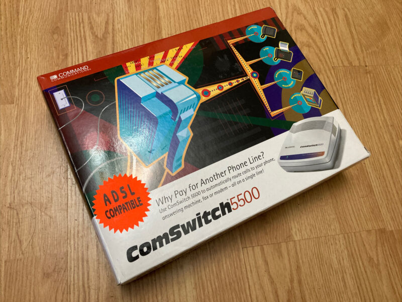 Command Communications ComSwitch 5500 - 4-Ports - IN BOX