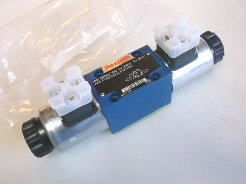 Rexroth R978017766 Solenoid Controlled Hydraulic Valve 4WE-6-D62/OEG24N9K4 New
