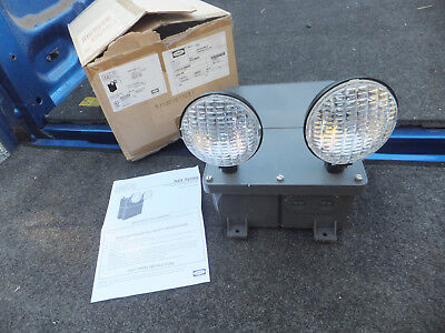 New Old Stock Hubbell Dual Lite N4x4i-wm Spectron Emergency Light Lighting N4x4i