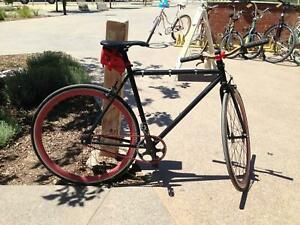 Fixed gear bike fixie single speed bicycle 54 cm