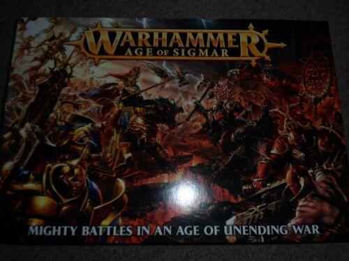 Games Workshop Warhammer Age of Sigmar Boxed Core Game BNIB New Sealed Khorne