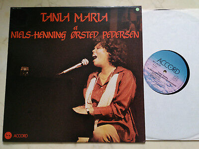 TANIA MARIA ET NIELS-HENNING ORSTED PEDERSEN Same *VINYL LP ACCORD LABEL*