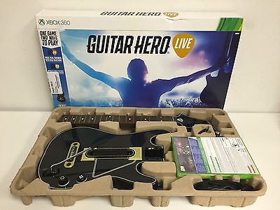 Guitar Hero Live Bundle (Microsoft Xbox 360, 2015), used for sale  Shipping to India