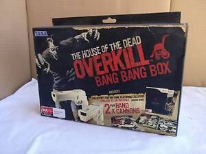 Nintendo Wii House of the Dead Overkill Bang Bang Box Guns Bedford Bayswater Area Preview