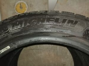 2 Michelin Pilot winter tires