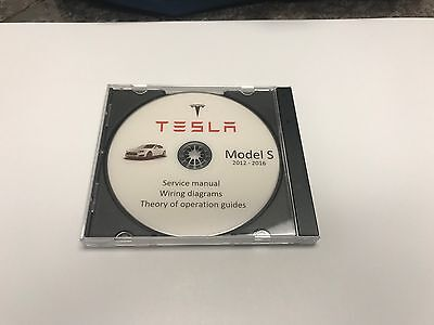 Tesla S model Service Repair Workshop Manual + Wiring diagram 2012-2016 diagnos