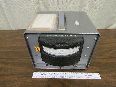 Electrostatic Voltmeter Esh Kilovolts Sensitive Research 0-2kv In Carrying Case