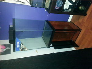 50 gallon tank with stand n light