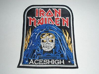 Iron Maiden Aces High Embroidered Patch