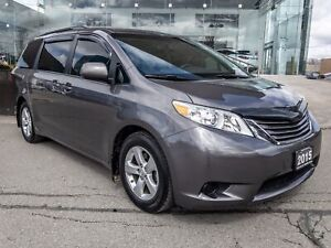 2015 Toyota Sienna LE 8 Passenger LE 1 Owner Backup CAM Clima...