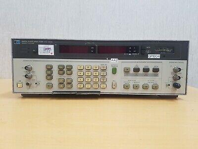 Hewlett Packard 8903a Audio Analyser