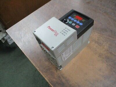 Allen-bradley Powerflex 40 Ac Drive 22b-d010n104 5hp 3ph Used