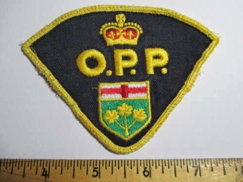 OPP Ontario Provincial Police Beatles Patch 1960