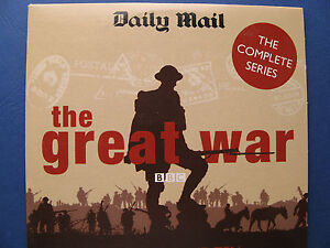 THE GREAT WAR PARTS 5 & 6 -- BBC DOCUMENTARY WW1 (1964) = PROMO =VGC