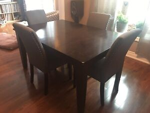 6 person extendable dining table