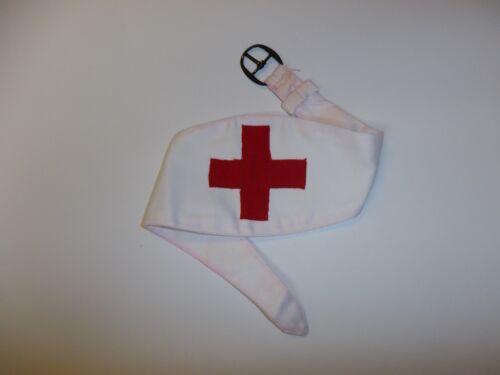 e1345 WW 1 & 2  Medic Armband French Red Cross IR19B