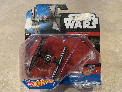 Hot Wheels Starships Star Wars First Order Tie fighter. Please Read Description.