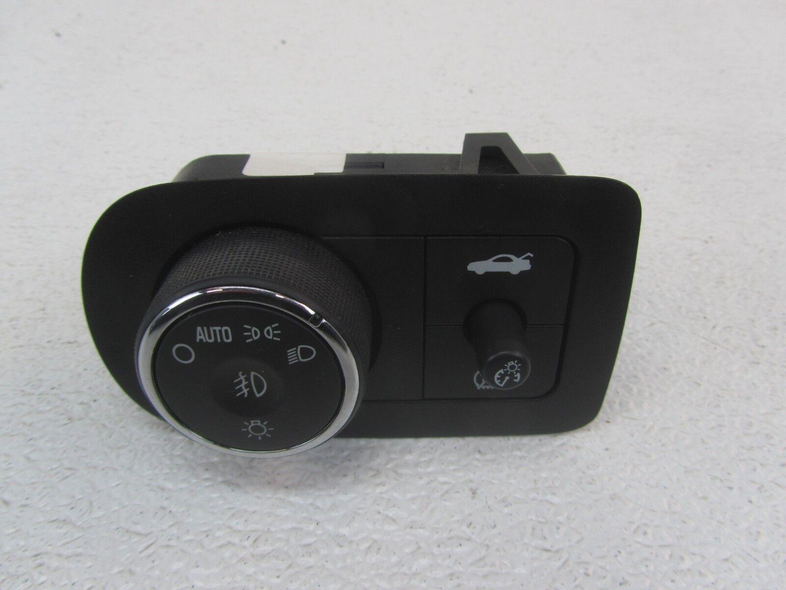 07 CHEVY IMPALA Black Headlight Headlamp Head Light Lamp Control Switch Knob