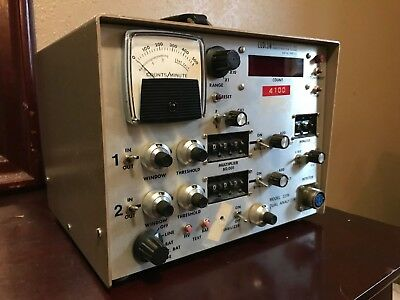 Ludlum Measurements Geiger Counter Model 2218 Dual Analyzer Scascaler