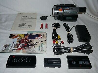 Sony DCR-TRV310 Digital8 Digital 8 HI8 8mm Camcorder VCR Player Video Transfer