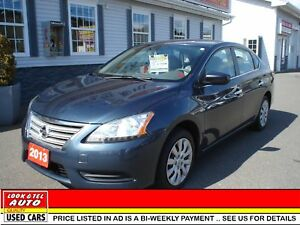 2013 Nissan Sentra $11495.00 financed price - 0 down payment* SV