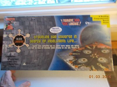 Sealed Alien Landing Learning Well Reading Comprehension Board Game