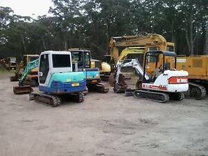 WANTED all brands excavators dozers loaders skid steer dump truck Lake Macquarie Area Preview