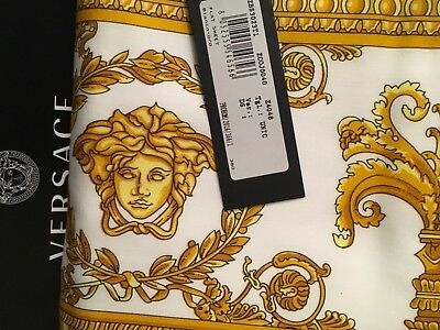 VERSACE MEDUSA FLAT SHEET KING NEW LOVER LUXURY GIFT IDEA ORIGINAL  SALE