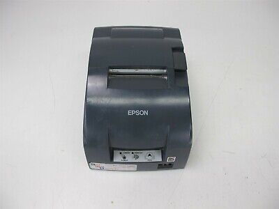 Micros Epson Tm-u220b Idn Dot Matrix Pos Receipt Printer M188b