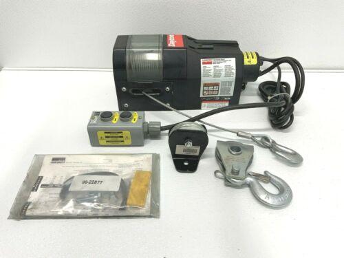 Dayton 3VJ63 Electric Winch w/Electric Control 115V 50/60HZ 0.6HP A3B