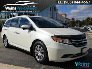 2014 Honda Odyssey EX-L| NAVI| CAMERA| SUNROOF| LANEWATCH DISPLA