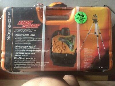 Johnson Hot Shot - Rotary Laser Level